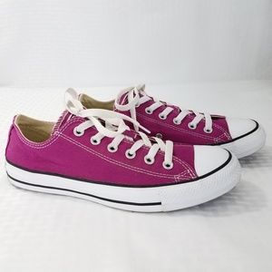 Converse All Star Chuck Taylor Ox Shoes Pink Low
